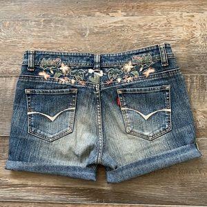 😊2/25 5th street cute jean shorts